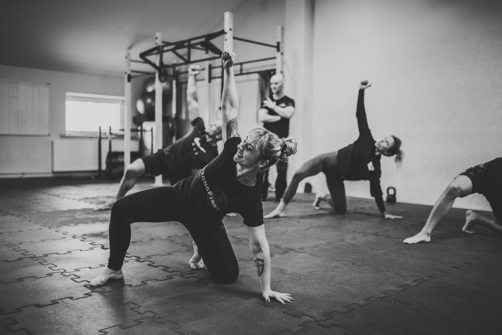Andżelika Stefańska - szkolenie StrongFirst